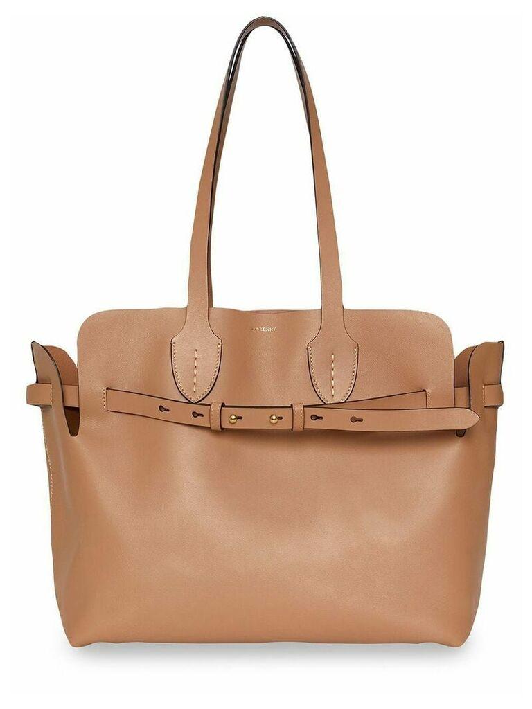 Burberry The Medium Soft Leather Belt Bag - Neutrals