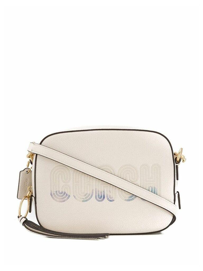 Coach logo print camera bag - Neutrals