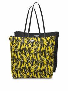Prada Twin Bag tote bag set - Black