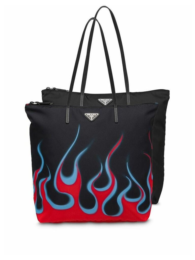 Prada Twin set tote bag - Black