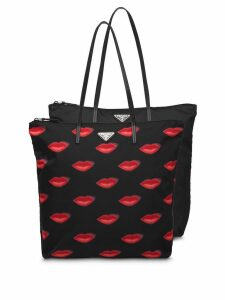 Prada Twin Bag tote set - Black