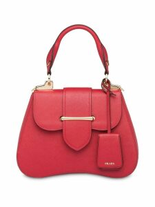 Prada Prada Sidonie medium Saffiano bag - Red