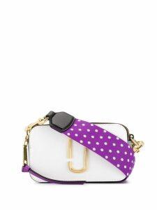 Marc Jacobs Snapshot small crossbody bag - White