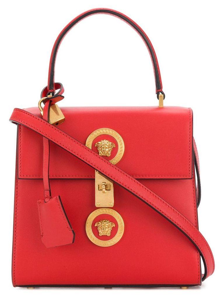 Versace embellished Medusa shoulder bag - Red