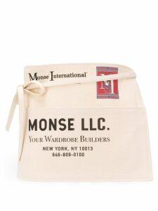 Monse printed belt bag - Neutrals