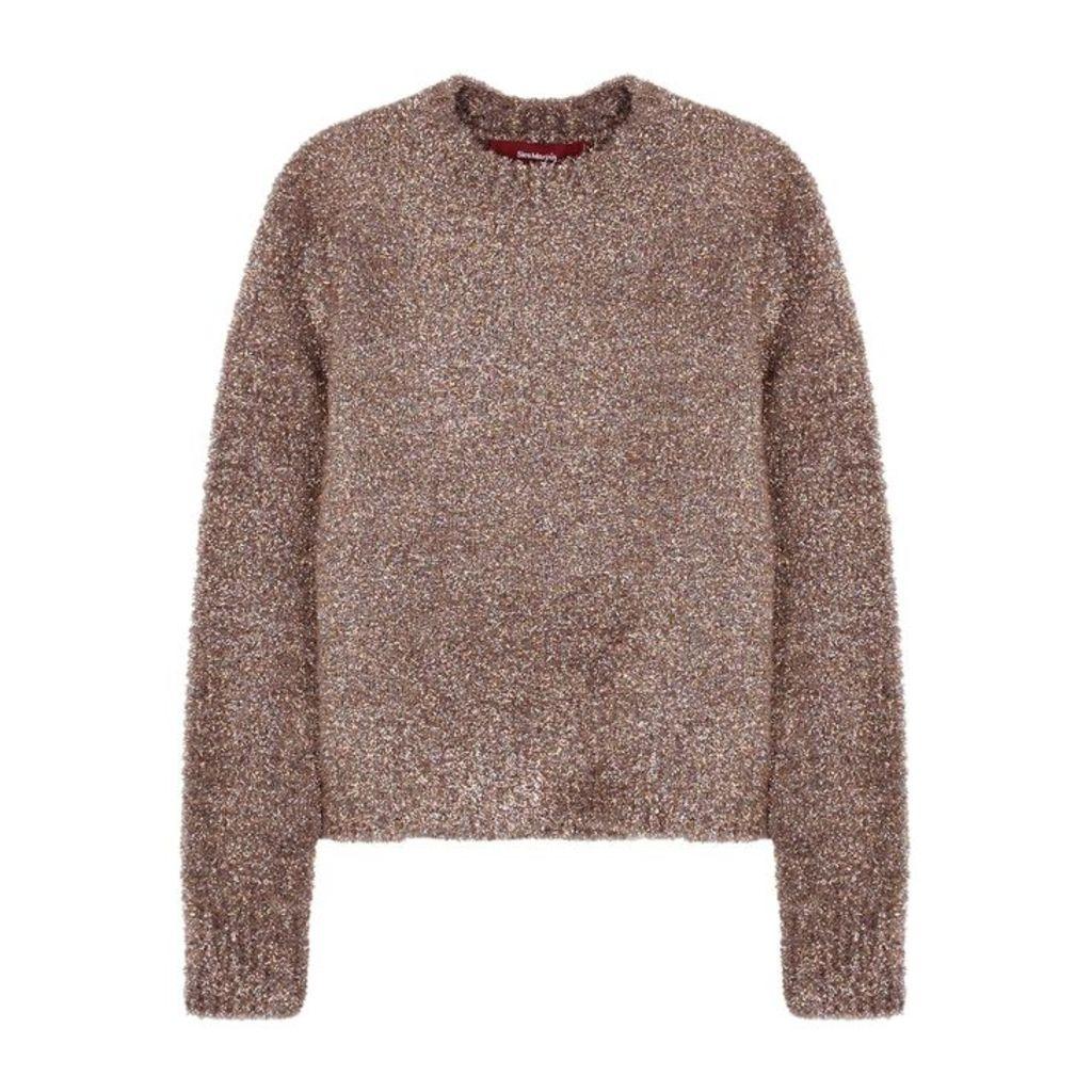 Sies Marjan Freddy Metallic-knit Jumper