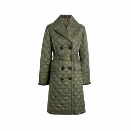 Burberry Lightweight Diamond Quilted Coat