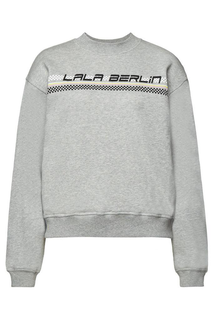 Lala Berlin Yanika Printed Cotton Sweatshirt