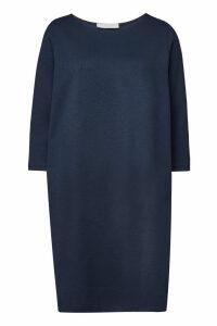 Harris Wharf London Canvas Geometric Boxy Dress