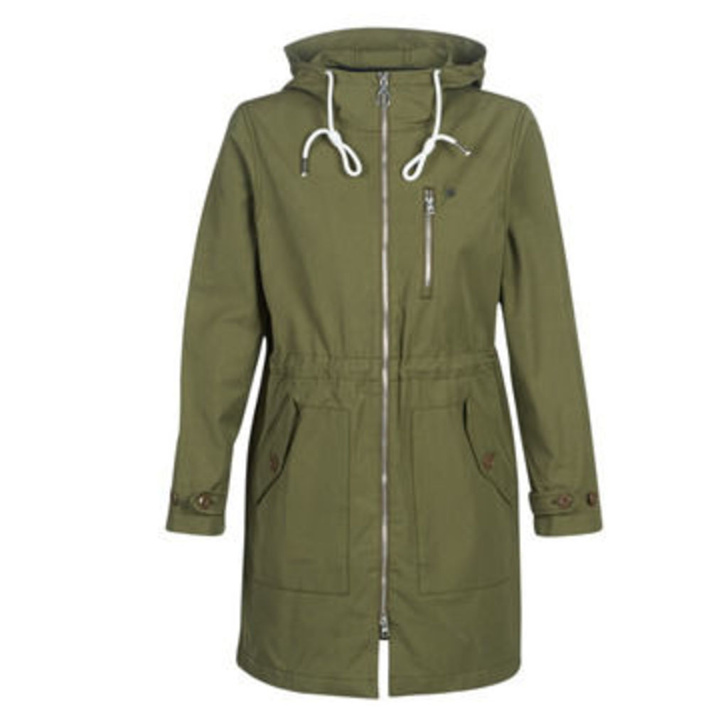 G-Star Raw  DUTY STRAIGHT PARKA  women's Parka in Green