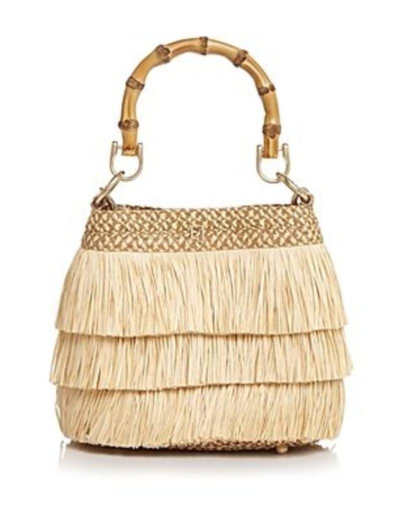 Eric Javits Medium Lil Mombo Fringe Handbag
