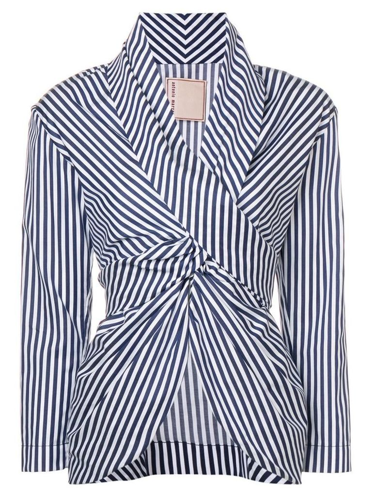 Antonio Marras striped blouse - Black