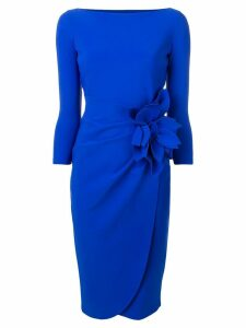 Le Petite Robe Di Chiara Boni fitted midi dress - Blue