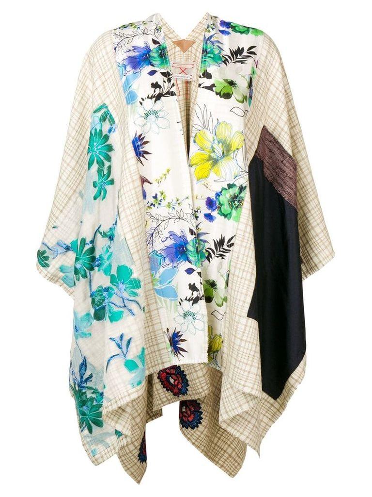 Stefano Mortari oversized kimono - Neutrals