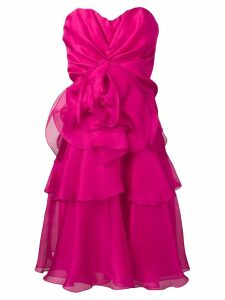 Rhea Costa strapless cocktail dress - Pink