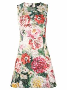 Dolce & Gabbana floral A-line dress - Green
