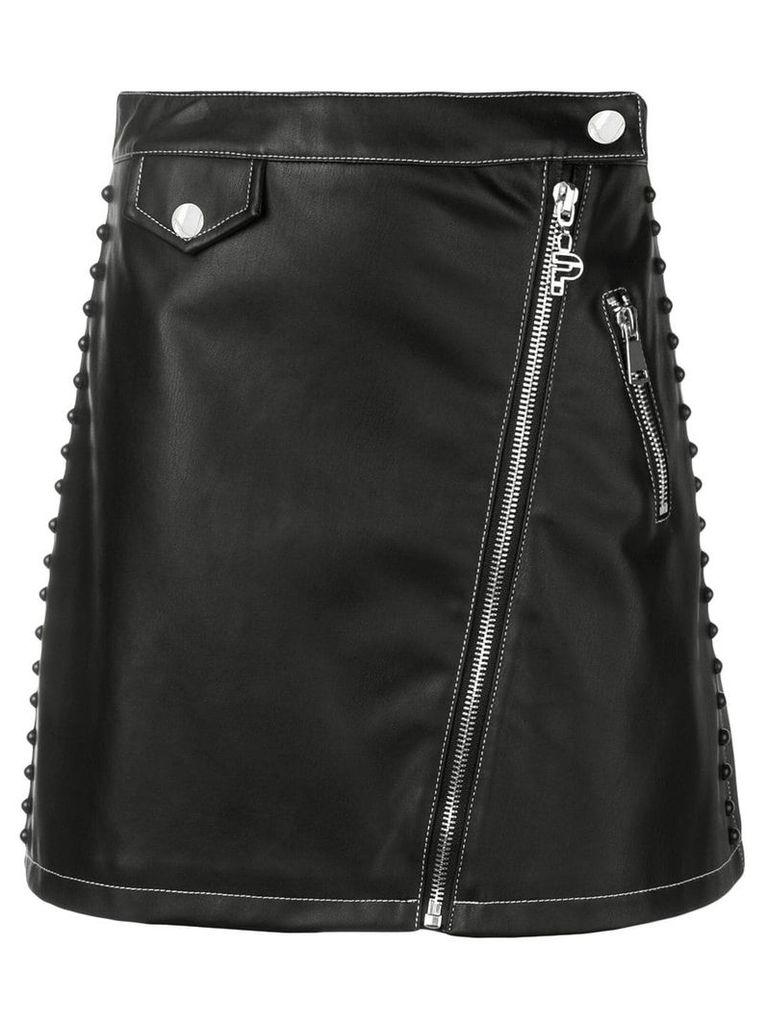 Pinko zipped A-line skirt - Black