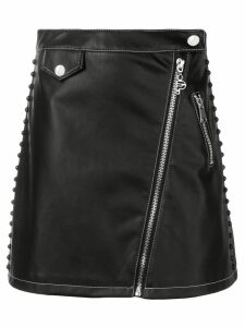 Pinko zipped A-line skirt - Black
