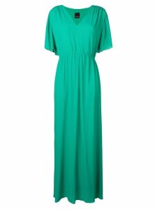 Pinko drawstring waist maxi dress - Green