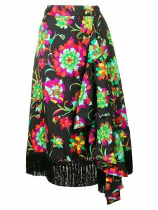 La Doublej Jungle skirt - Black