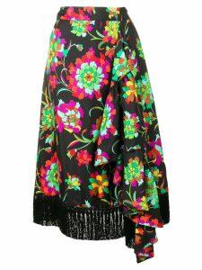 La Doublej Jungle skirt - Black