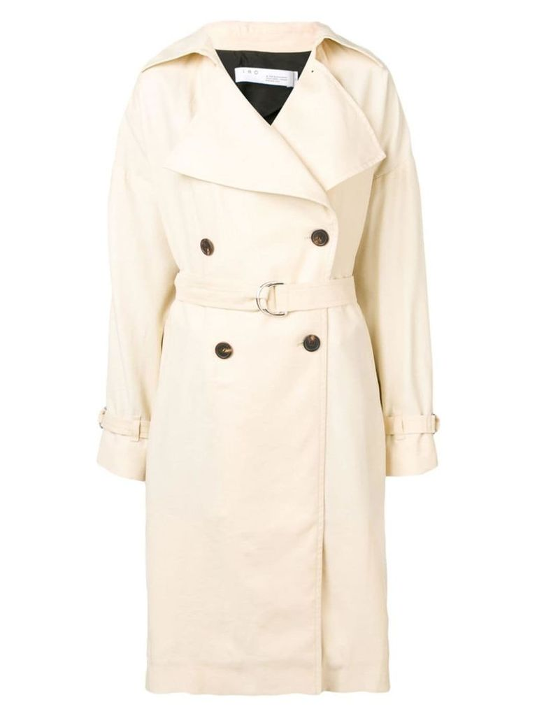 Iro belted trench coat - Neutrals