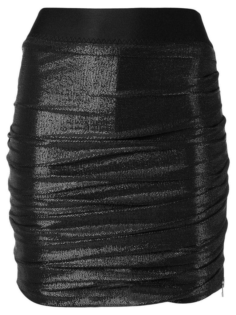Faith Connexion drape tube skirt - Black