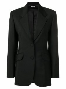 Miu Miu fitted blazer - Black