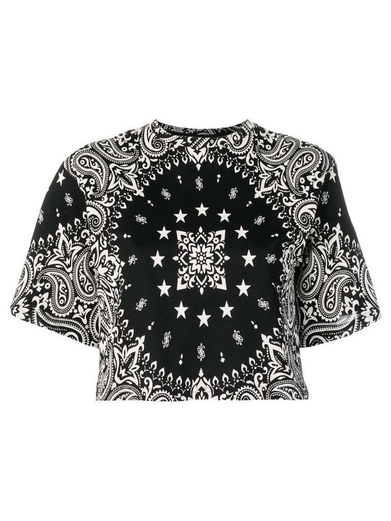 Études Crescent Bandana T-shirt - Black