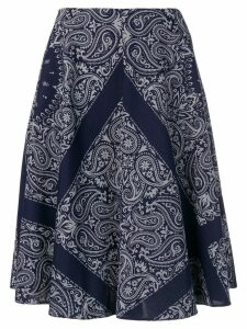 Études Steps Bandana skirt - Blue