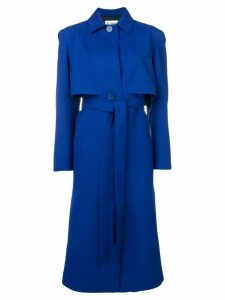 Études Arrow long coat - Blue