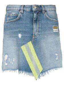 Pinko Scotch™ denim mini skirt - Blue