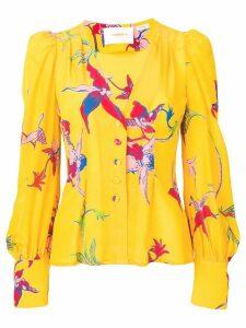 La Doublej Smokin'Hot shirt - Yellow