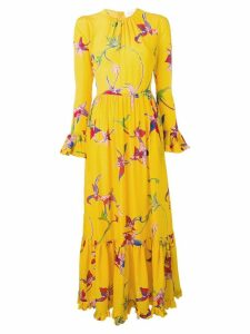 La Doublej Visconti orchid dress - Yellow