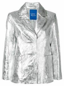 Simon Miller metallized blazer - Silver