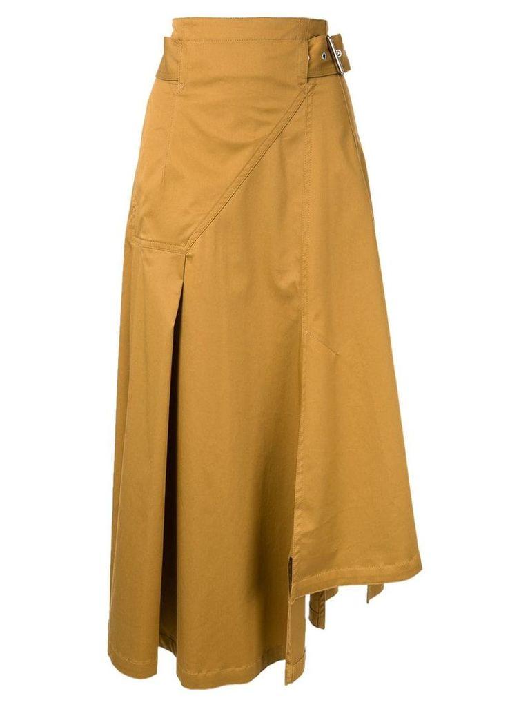 3.1 Phillip Lim asymmetric skirt - Brown