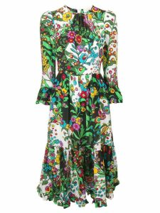 La Doublej Visconti midi dress - Green