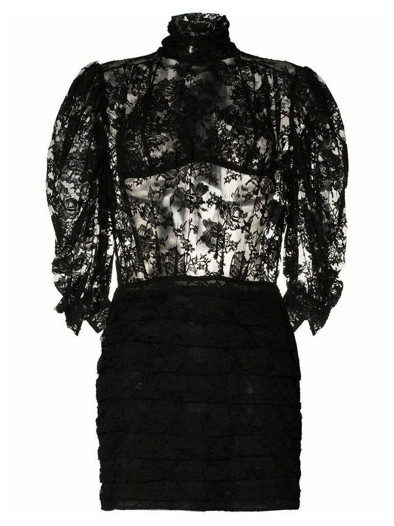 Magda Butrym Labutes lace dress - Black