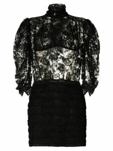 Magda Butrym Labutes lace dress - Black