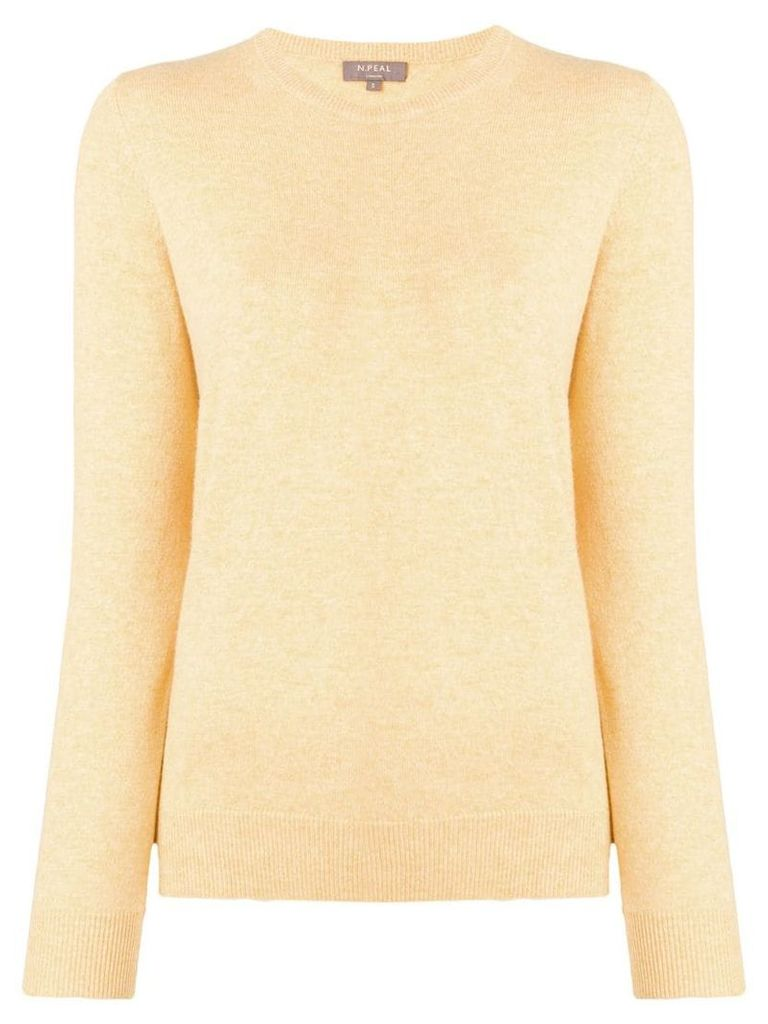 N.Peal round neck jumper - Yellow
