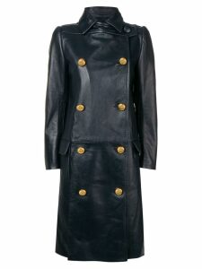 Prada double breasted overcoat - Blue