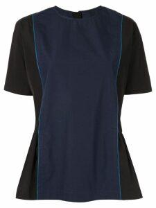 Marni peplum side blouse - Black