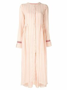 Lemlem striped shirt dress - Pink