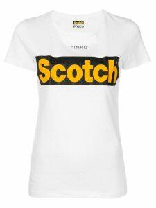 Pinko Pinko X Scotch T-shirt - White