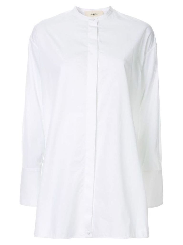 Ports 1961 long-length shirt - White