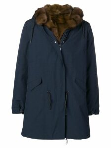 Liska hooded parka cat - Blue