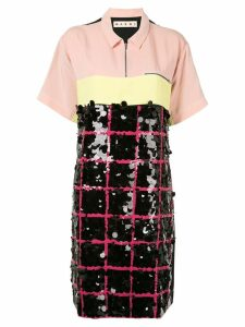 Marni contrast dress - Multicolour