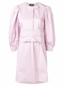 Isabel Marant poplin shirt dress - Pink