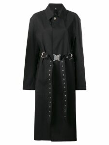 1017 ALYX 9SM x Mackintosh belted trench coat - Black