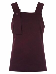 Mara Mac appliqué tank top - Purple